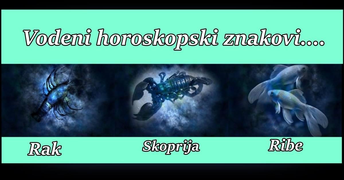 Rak, Skorpija i Ribe – Sve VRLINE i MANE ovih znakova, zbog cega su JEDINSTVENI, po cemu su PREPOZNATLJIVI, zvezde otkrivaju PRAVU ISTINU o njima!
