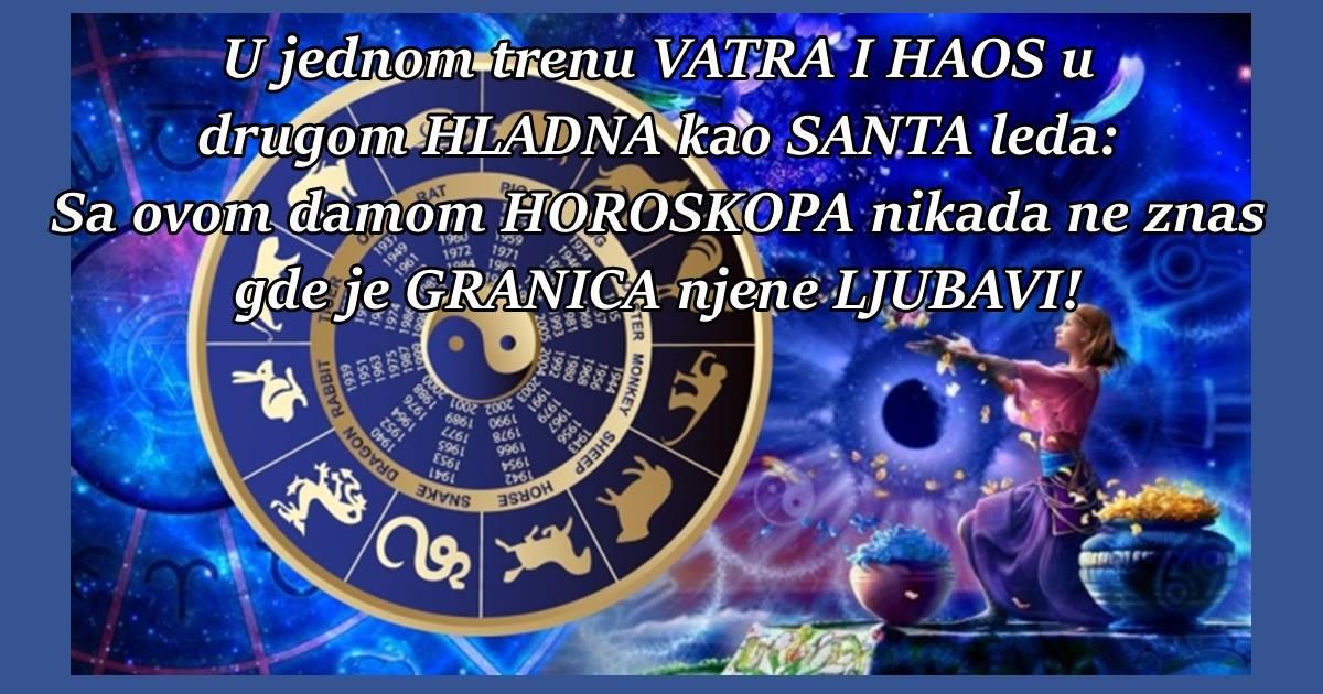 U jednom trenu VATRA I HAOS u drugom HLADNA kao SANTA leda: Sa ovom damom HOROSKOPA nikada ne znas gde je GRANICA njene LJUBAVI!