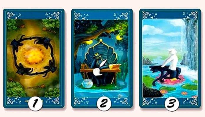 Odaberite jednu kartu i otkrijte sudbonosno važnu poruku!
