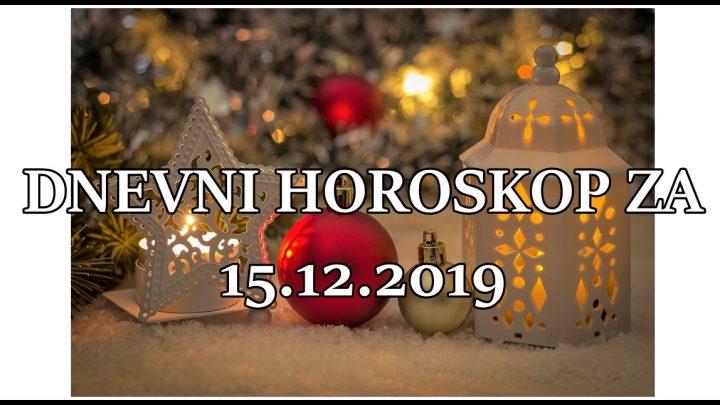 Dnevni horoskop za 15. DECEMBAR: Bik nervozan, Skorpija srecna!